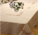 Blossom Embroidered Tablecloths