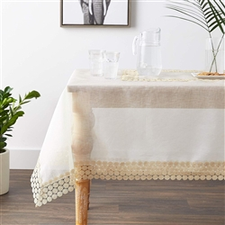 Dainty Embroidered Tablecloths