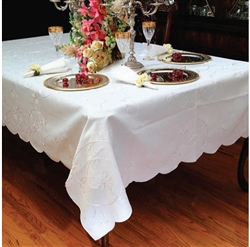 Dublin Embroidered Tablecloths