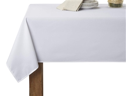 Hotel Collection Solid White tablecloth