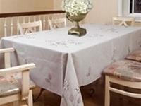 Hydrangeas Embroidered Tablecloths