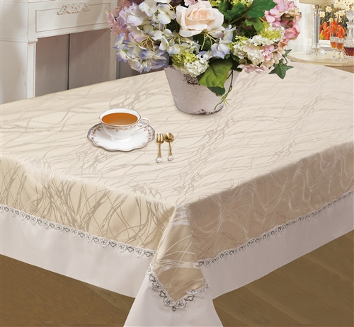 Rivierra Embroidered Tablecloths