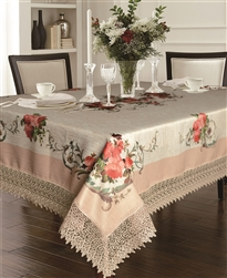 Ascott Emboridered Tablecloths