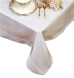 Clear Plastic Tablecloths & Tablecloth protector