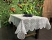 Concord Embroidered Lace Tablecloths