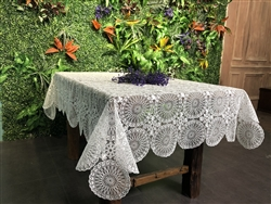 Concord Embroidered Tablecloths