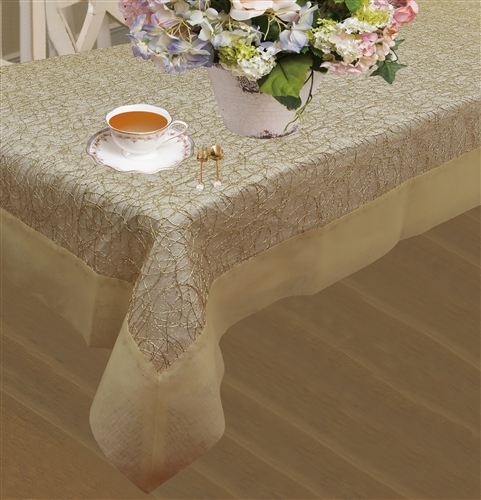 Crown Embroidered Tablecloths