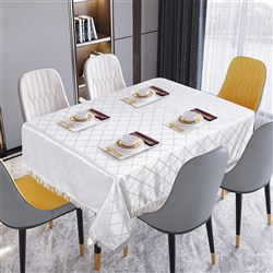 Diamond Damask Tablecloths