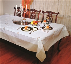 Espirit Embroidered Tablecloths