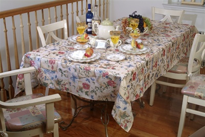 European Garden Tablecloths
