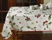 European Printed Kitchen Cherries Tablecloths