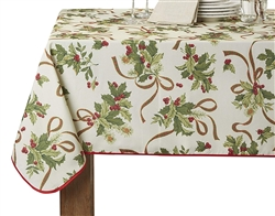 European Seasonal Printed Tablecloths