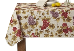 European Vineyard Printed Tablecloths