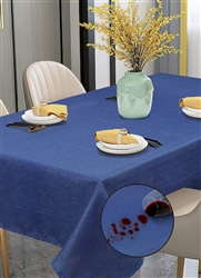 Euro Linen Stain Free Tablecloth