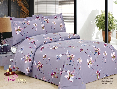 French Magnolia Levendor 8 Piece Luxurious Duvet Sets