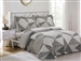 French Hexagons 6 piece Luxurious Duvet sets,