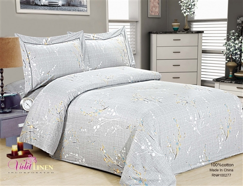 French Roses 6 piece Luxurious Duvet sets,