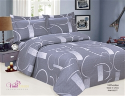 French Abstract Duvet Set