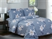 French Botanical 6 Piece Luxurious Duvet Set
