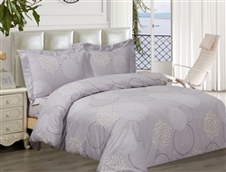 French Circular 6 piece Luxurious Duvet sets,