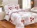 French Lilies 8 piece Luxurious Duvet sets,