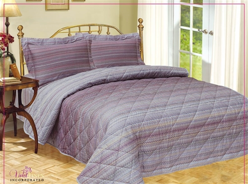 French Mini Waves Quilt Set