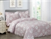 French White Bloom 6 piece Luxurious Duvet sets,