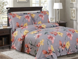 French Garden  8 Piece Duvet Set