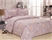 French Levendor Rose  6 Piece Duvet Set