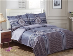 French Raddison  8 Piece Duvet Set