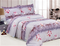 French Sparkling 8 Piece Duvet Set