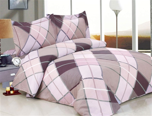 French Traingle Deep  6 Piece Duvet Set