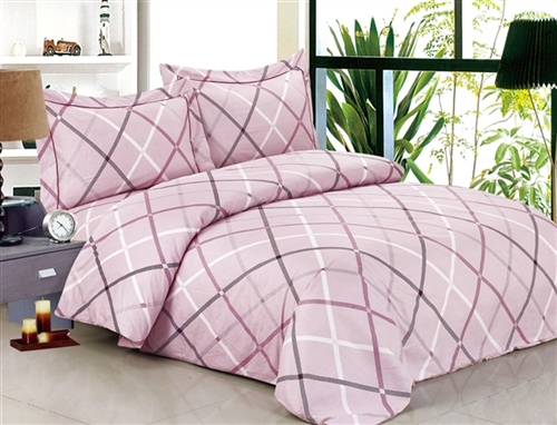French Traingle Soft  6 Piece Duvet Set