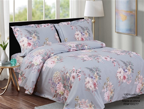 French Trees 8 Piece Duvet Set