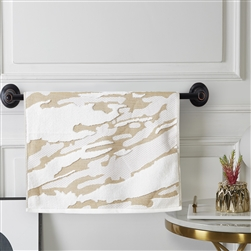 Marquis Fashion Towel - Hand Gold