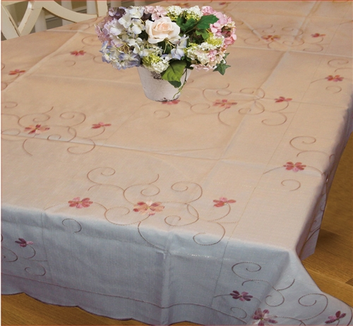New Orleans Embroidered Tablecloth