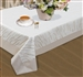 Orchid Embroidered Tablecloth