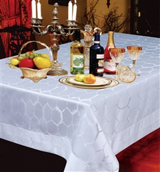 Premium Damask Tablecloths