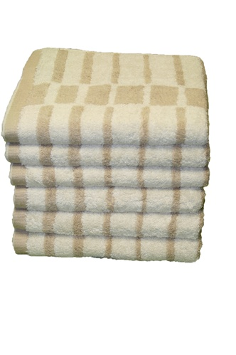 "Royal Taupe 20"" X 30"" 100% Cotton 6-Piece Hand Towel Set"