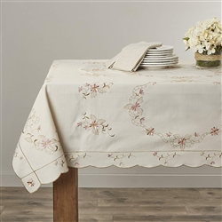 Renaissance Embroidered Tablecloths
