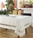Splendour Embroidered Lace tablecloth