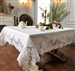 Versaille Embroidered Lace tablecloth