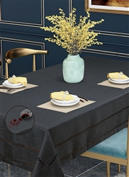 Hem Stitch Tablecloth