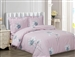 French Cream Rose 6 piece Luxurious Duvet sets,
